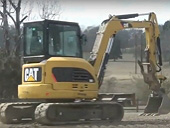 Мини-экскаватор Caterpillar 305D CR