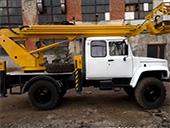 Автовышка ГАЗ 3308 ТА-14