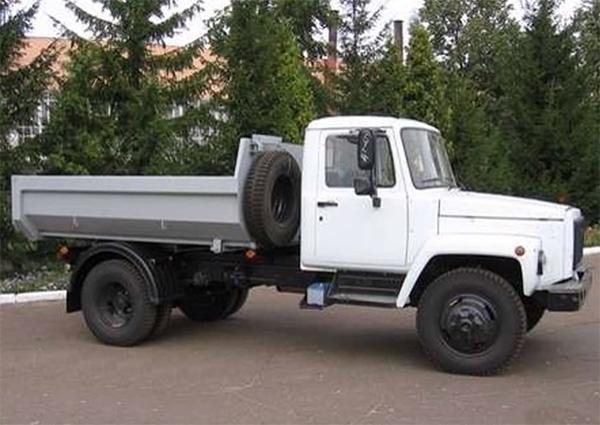 самосвал ГАЗ-САЗ 35072