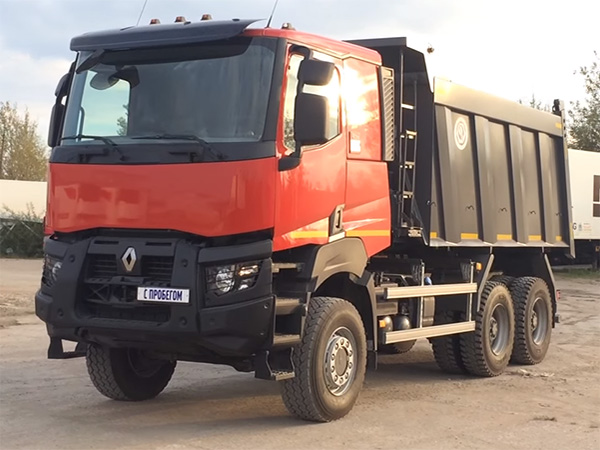 Самосвал Renault Kerax 380.34 Light 6х4