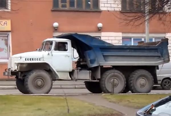 самосвал Урал 45286-01