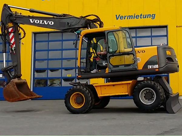 экскаватор Volvo EW 160