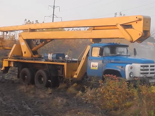 Автовышка ЗИЛ АГП-18