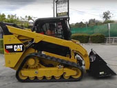 мини-погрузчик Caterpillar 299D