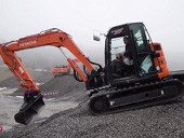 экскаватор Hitachi Zaxis 85US
