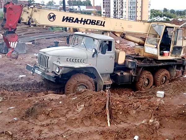 автокран Ивановец КС-3574