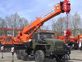 автокран Клинцы КС-45722