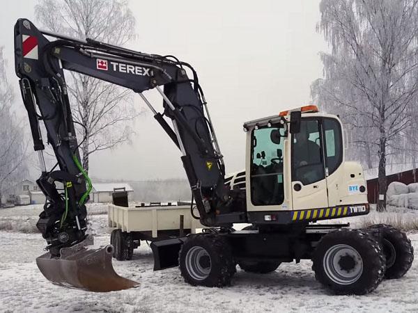 экскаватор Terex Atlas TW 110