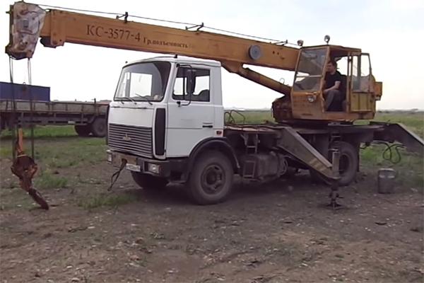 Автокран Ивановец КС 3577-4