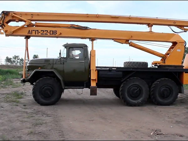 Автовышка ЗИЛ АГП-22